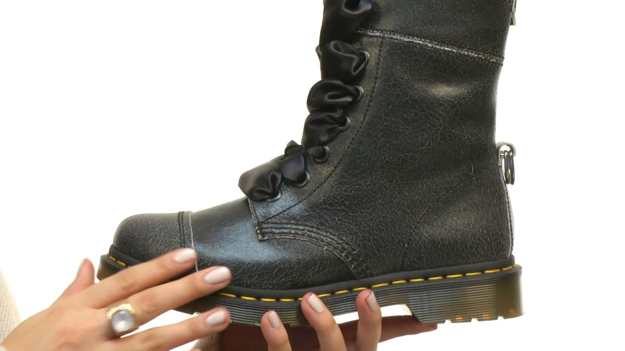 Dr. Martens Aimilita 9-Eye Cap Toe SKU 8475222 - YouTube 7c9adb24a