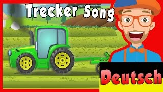 trecker fr kinder mit blippi   der trecker song   kinderlieder