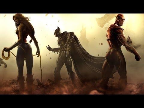 Injustice: Gods Among Us - All Super Moves (Все супер удары)