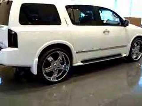 Infiniti Qx56 On 26 Quot Rims Youtube