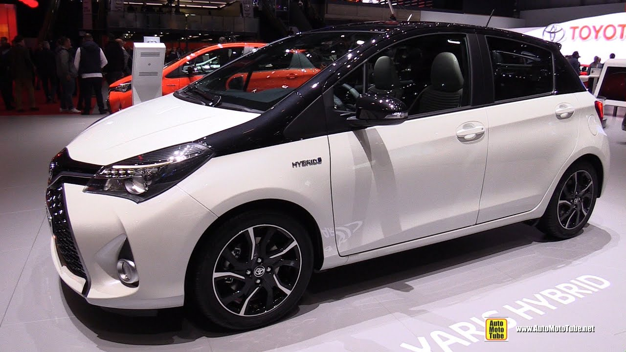 2016 Toyota Yaris Hybrid Exterior And Interior Walkaround Geneva Motor Show