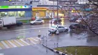 Видеозапись с уличной IP камеры Zodiak 986 (Full HD, 1920x1080 Пикс, улица)
