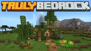 Tizztoms Hobbit hole! Truly Bedrock SMP | Season 1