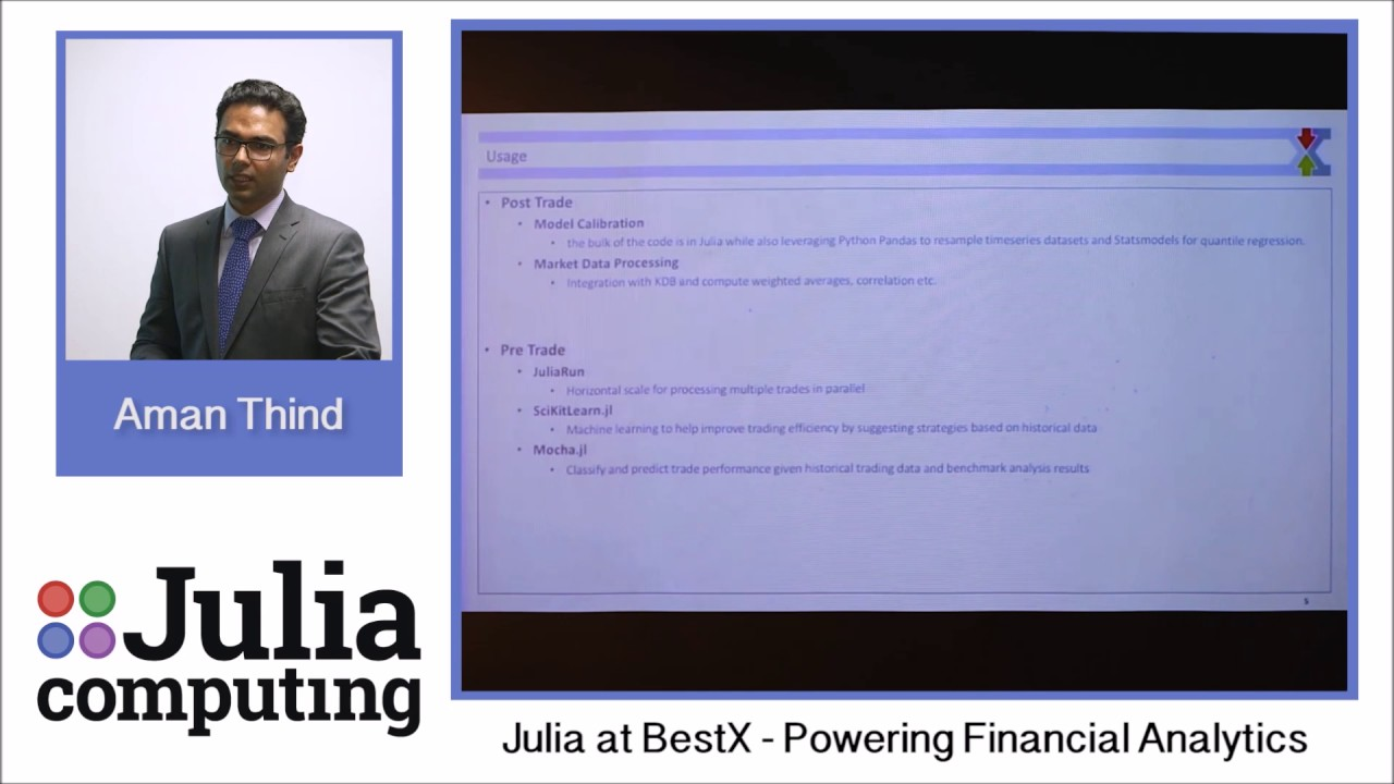 Finance – Julia Computing