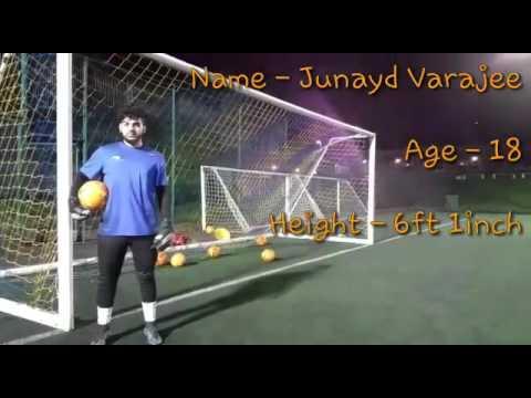Goal kicks in soccer practice