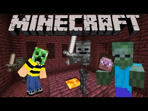 Minecraft 1.4 Snapshot: Monster Masks, New Wither Skeleton, Pig Mounts, & More! 12w36a