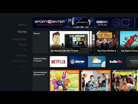 Amazon Fire TV Stick: First Setup and Walkthrough!