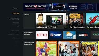 Amazon Fire TV Stick: First Setup and Walkthrough!(Click