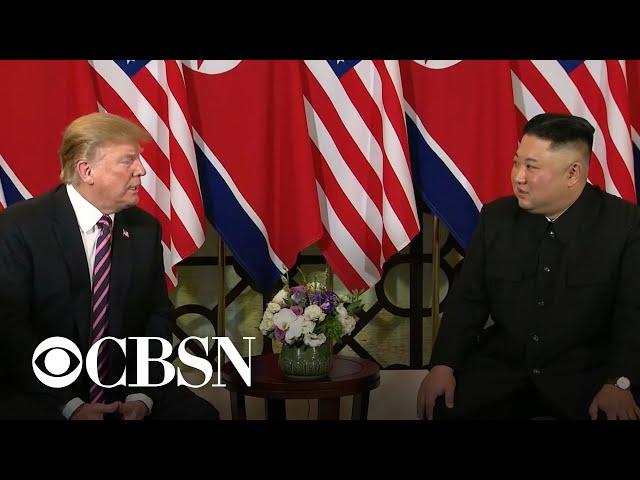 Trump, Kim Jong Un begin second summit in Vietnam