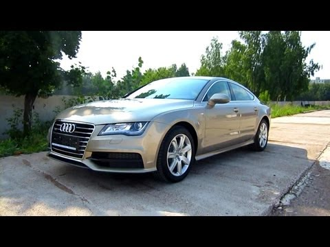 2012 Audi A7. Start Up, Engine, and In Depth Tour.