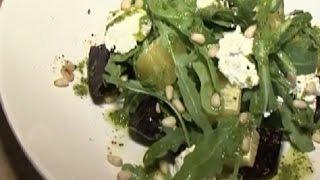 Вкусные новости. Салат из печеной свеклы
