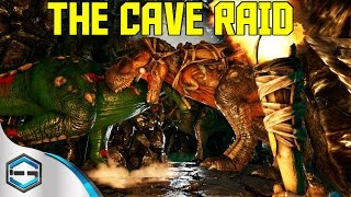 Ark Survival Evolved The Cave Raid