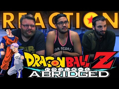 "DBZ Abridged Movie ""History of Trunks"" REACTION!!"