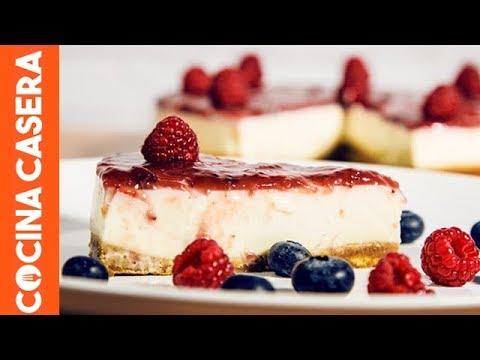 tarta de queso fria cocina casera