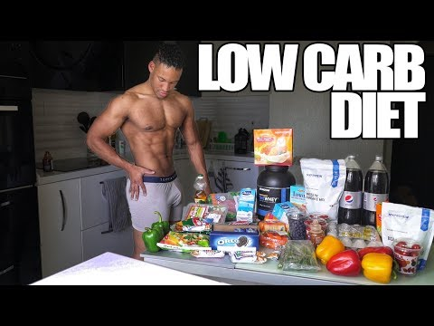 FULL DAY OF EATING LOW CARB DIET | STUDENT SHREDDING EP. 16