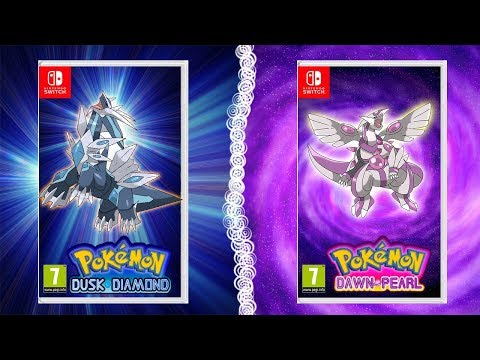 Pokémon Dusk Diamond and Pokemon Dawn Pearl ! First look