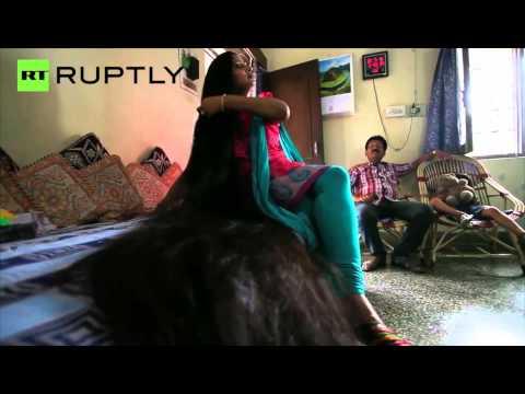 Meet the Indian Rapunzel with 7 Foot Long Hair Pankaj Jha Mbs
