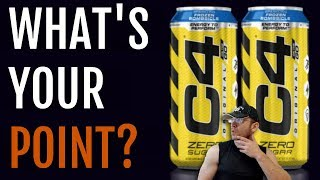 NOT sure I get it.. | Cellucor C4 Carbonated Review [C4 On the Go]