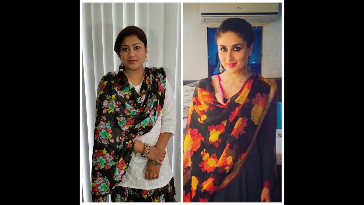 kareena kapoor Bajrangi Bhaijaan inspired makeup.. - YouTube