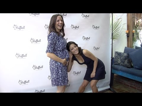 Emmanuelle Vaugier, Lori Loughlin, Anna Silk  2015 Fluffball Event ARRIVALS