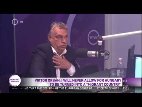 "Viktor Orban: I Will Never Allow Hungary To Be Turned Into A ""Migrant Country"""