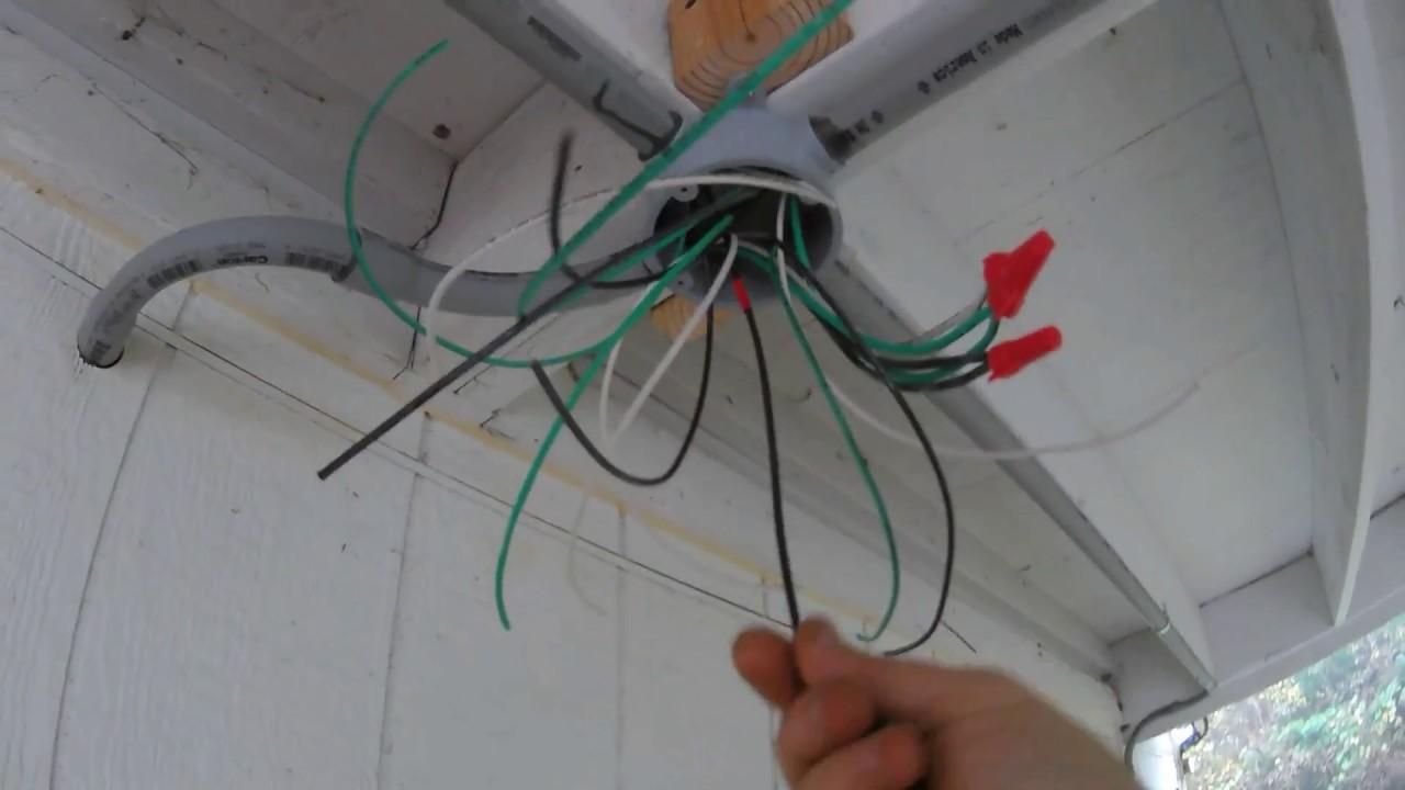 medium resolution of installing conduit outdoor lighting