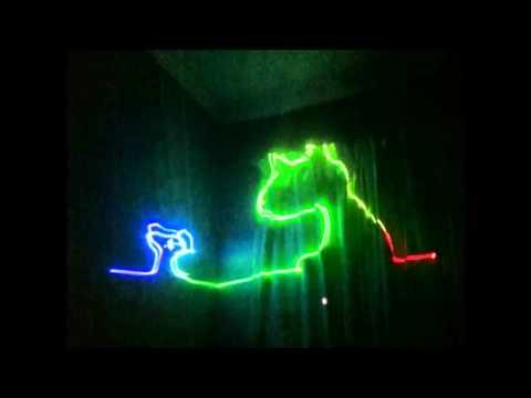 500mW DIY RGB Laser Show - The Riddle