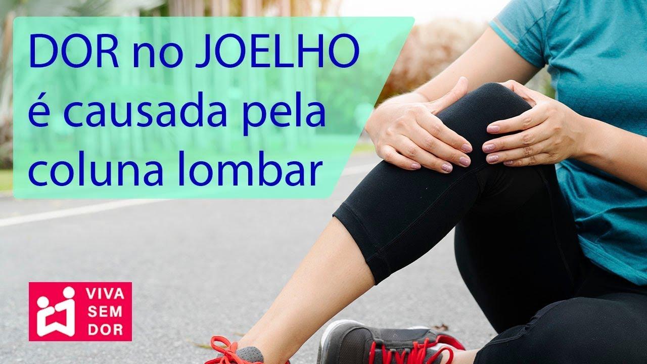 Puxada dor no joelho muscular