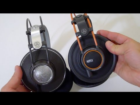 5050c317dfb First Look: AKG K612 pro & K712 pro Studio Headphones - YouTube