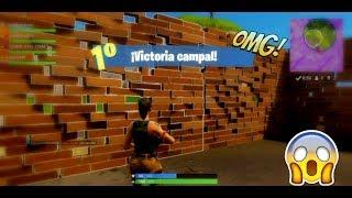Mi Primera Victoria!!! | Fortnite | zak gamer YT
