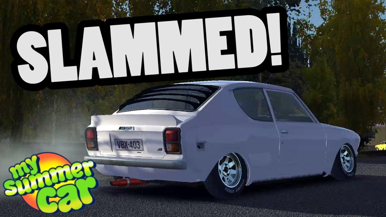 Stanced Satsuma My Summer Car Mod Youtube