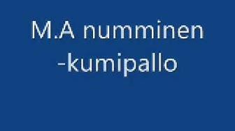 M.A numminen-kumipallo