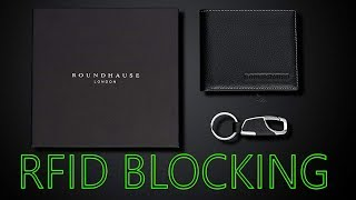Designer Slim Mens RFID Blocking Wallet By Roundhause Review!