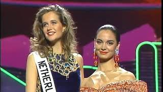 CROWNING MOMENT: Miss Universe 1991
