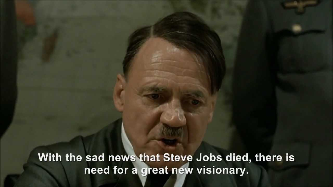 Hitler plans to be the next Steve Jobs