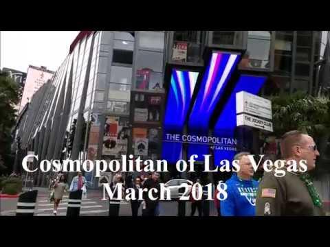 Cosmopolitan of Las Vegas Tour, 2018