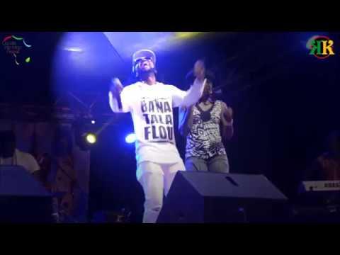 MIXTON - Douala Hip Hop Festival 2017 ( FREE STYLE)