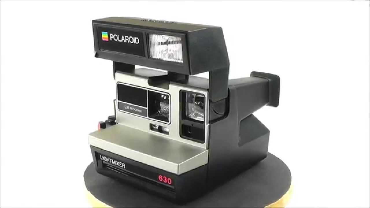 polaroid land camera lm program lightmixer 630 youtube. Black Bedroom Furniture Sets. Home Design Ideas