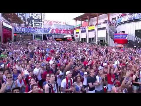 USA Soccer World Cup 2014 Tribute