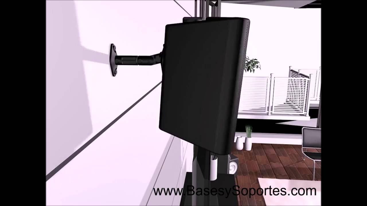 Soporte de pared para parlante bocina teatro en casa - Soportes altavoces pared ...