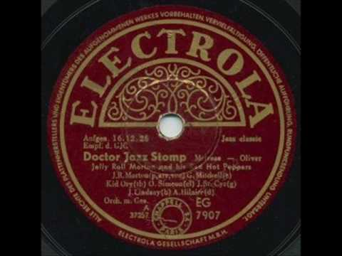 Jelly Roll Morton  Dr Jazz1926  YouTube