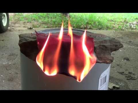 How different Fabrics and Materials Burn Cotton, Leather ect