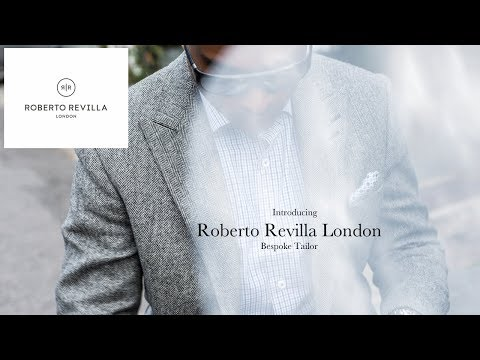 Introducing Roberto Revilla London Bespoke Tailor