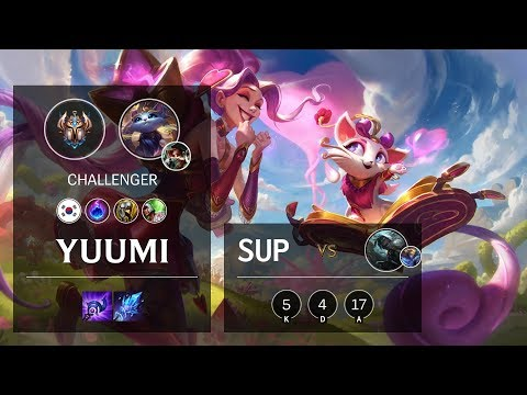 Yuumi Support vs Senna - KR Challenger Patch 10.4