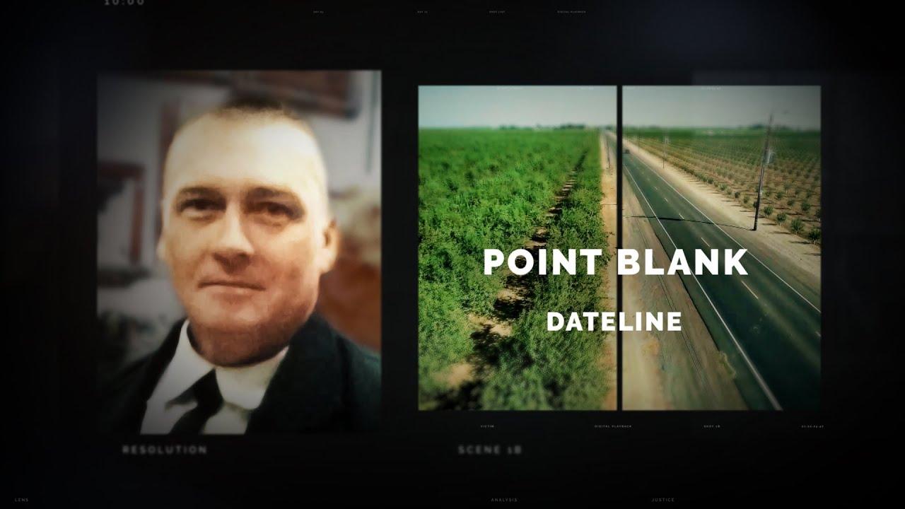 Dateline Episode Trailer: Point Blank | Dateline NBC