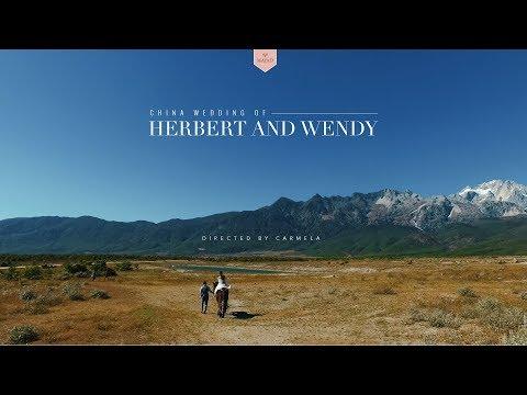 China Wedding Of Herbert And Wendy
