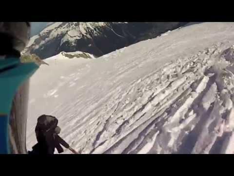 Record descente du Mont-Blanc - 32min
