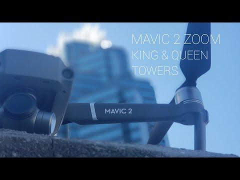 DJI MAVIC 2 ZOOM...KING AND QUEEN TOWERS (Sandy Springs,  GA) IN 4K