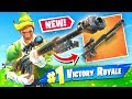 Download *NEW* HEAVY SNIPER RIFLE Gameplay In Fortnite Battle Royale