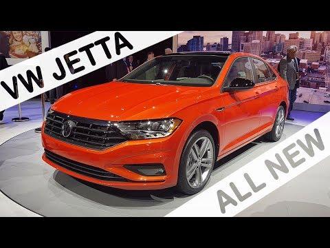 Novo VW Jetta 1.4 2019 | Salão de Detroit | Naias 2018 com Giu Brandão
